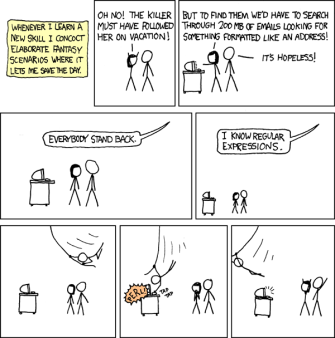 Life with Regular Expressions! – Data, Cloud, Software
